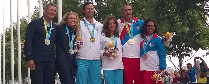 2015 Pan Am Games Hobie 16 medalists